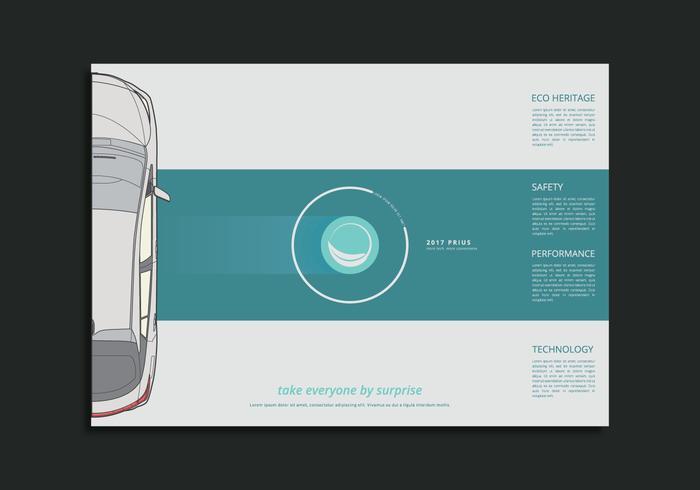 Modèle de page Web Prius