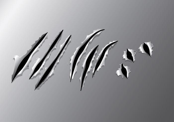 Vector de déchirure de métal