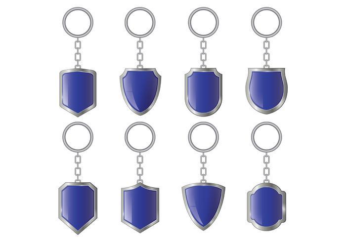 Set Of Key Holder Vectors