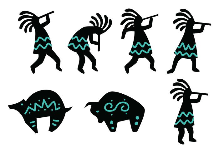 Figure kokopelli
