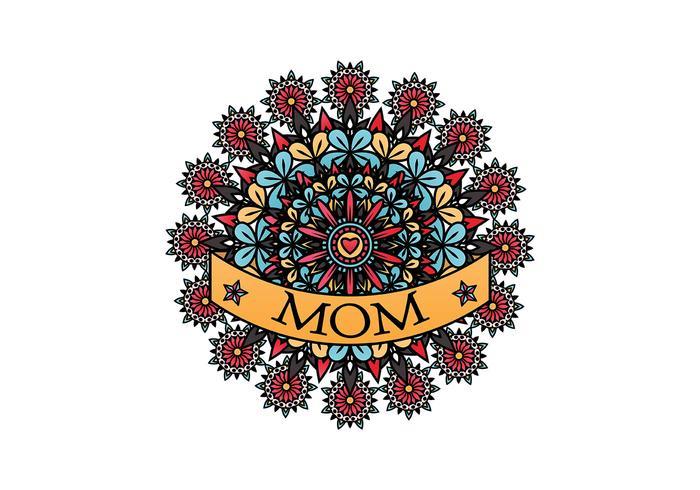 Mãe Tatuagem Vector