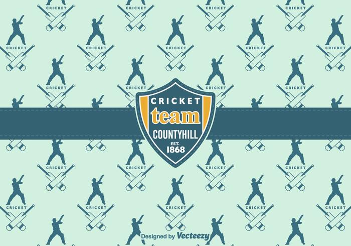 Free Cricket Vector Background