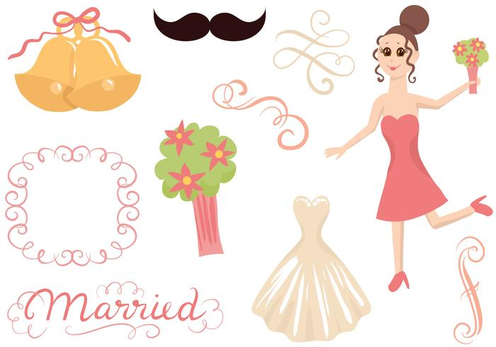 Free Wedding 2 Vectors