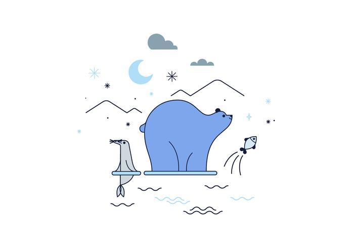 Gratis Arctische Vector