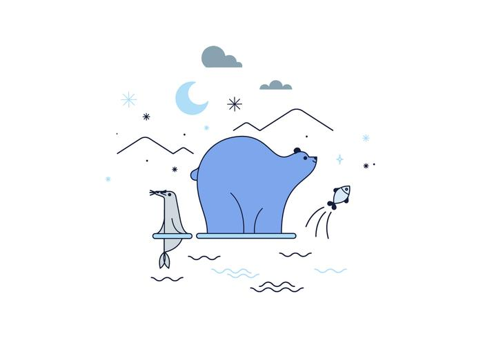Free Arctic Vector
