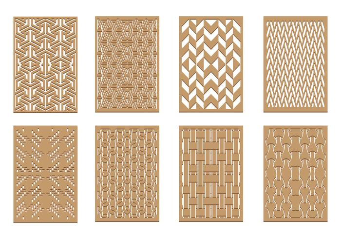 Gratis Laser Cut Pattern Vector