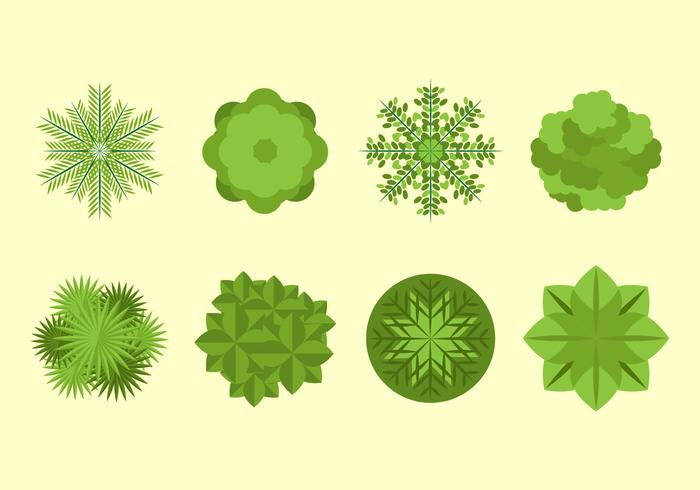 Free Tree Tops Vector