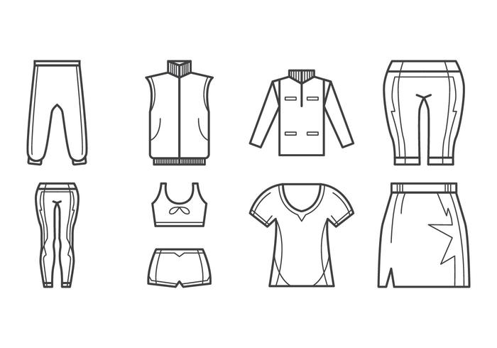 Free Sport Clothes Icon Vector