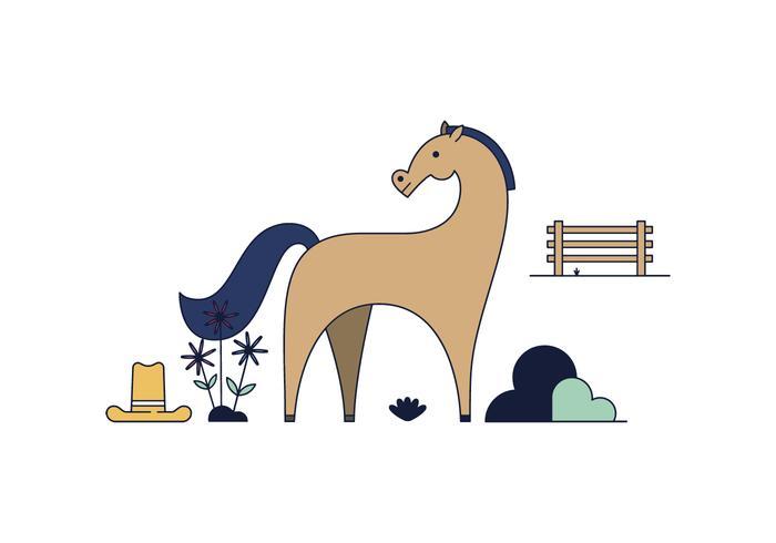 Vecteur de cheval gratuit