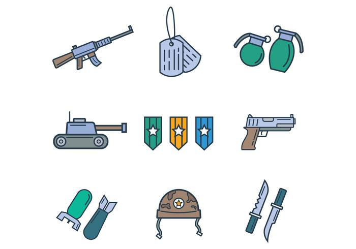 Free Army Vector