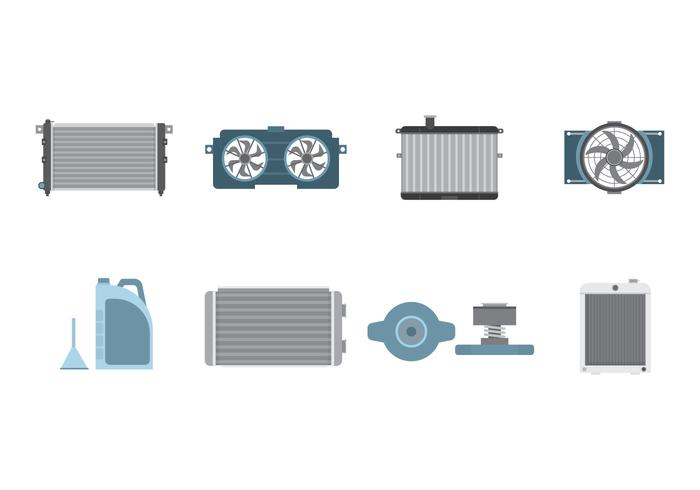 Free Car Radiator Vector