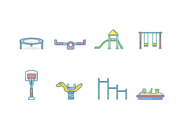 Free Kids Playground Vector