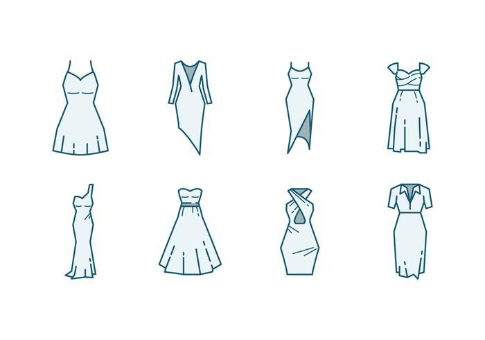 Brudtärna klänning ikon