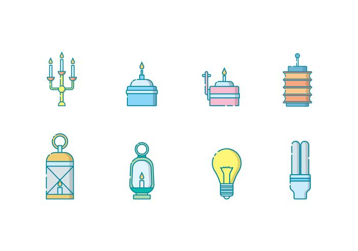 Free Lighting Objects Vector