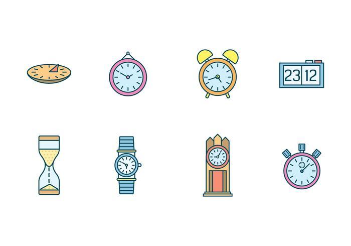 Free Clocks Vector