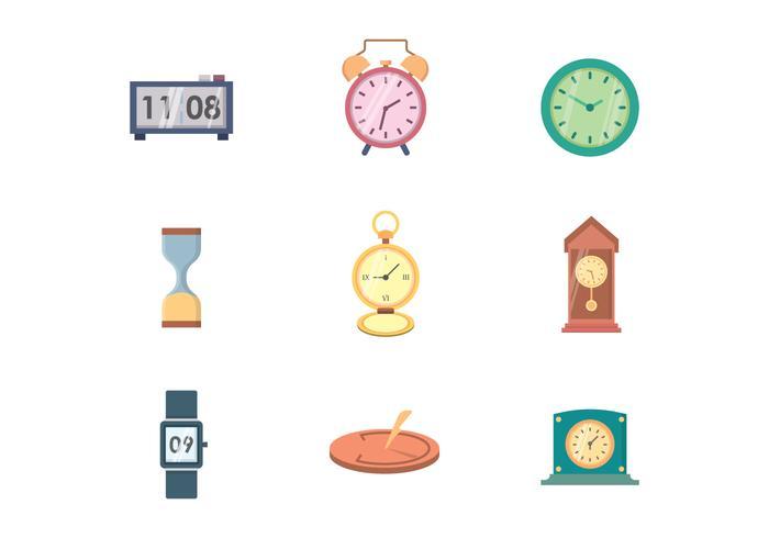 Vecteur d'horloge gratuit