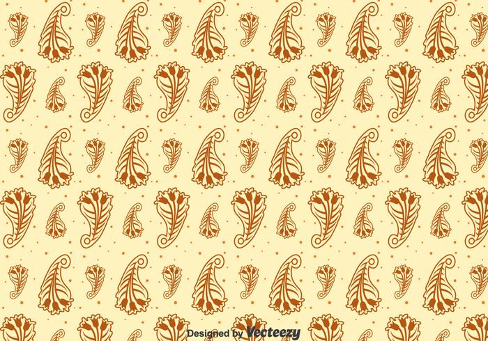 Marron Cachemire Seamless Pattern