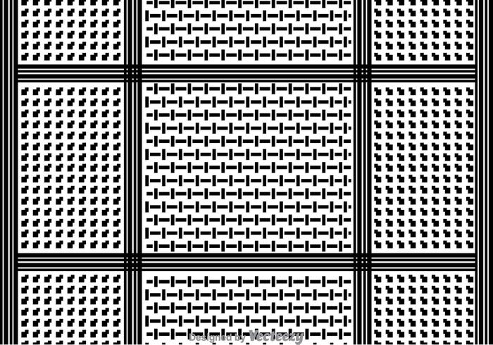 Keffiyeh Pattern Background