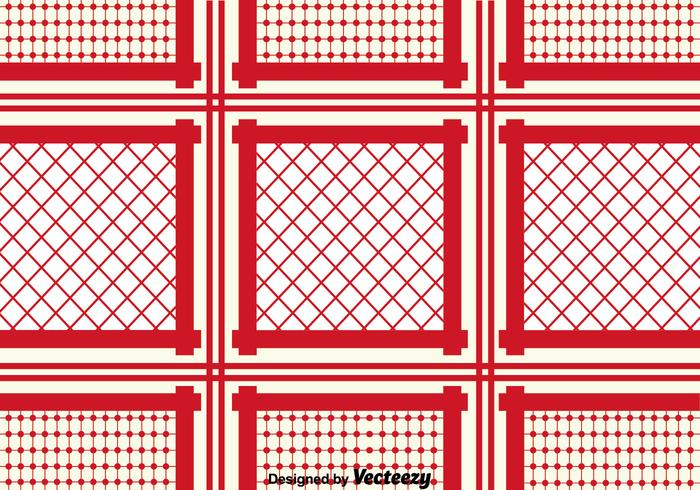 Red Keffiyeh Pattern Background