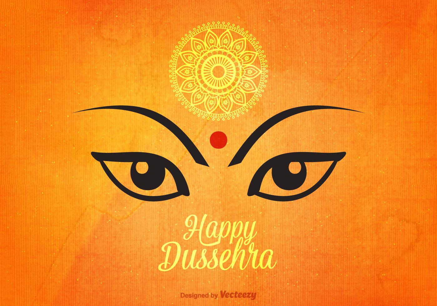 Happy Dussehra Vector Background Download Free Vector Art Stock