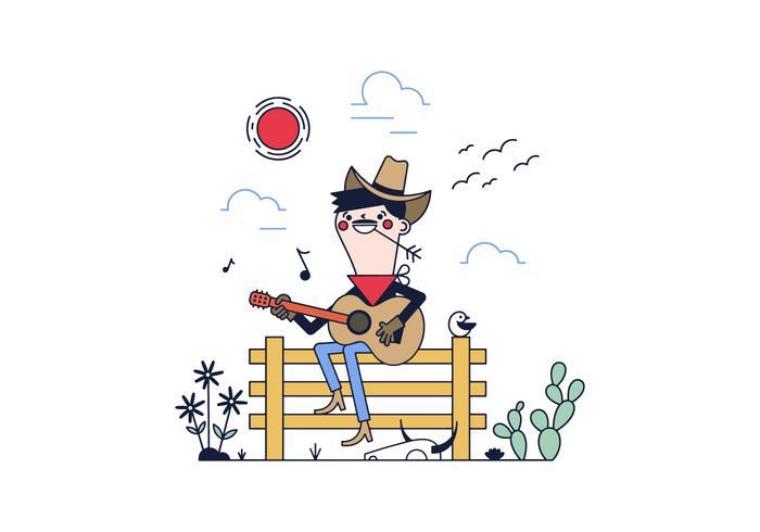 Free Cowboy Vector