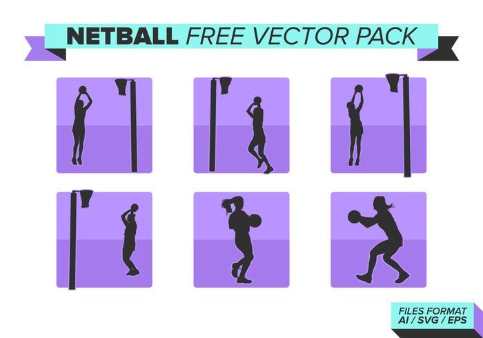 Netball paquete de vectores gratis