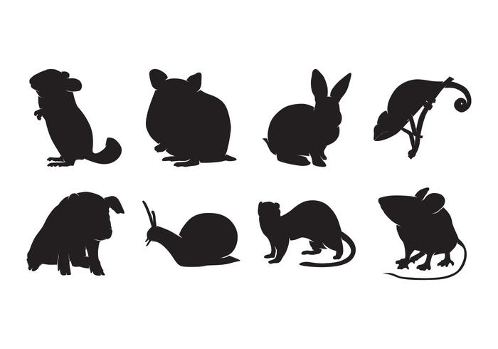 Gratis Animal Pet Silhouettes Vector