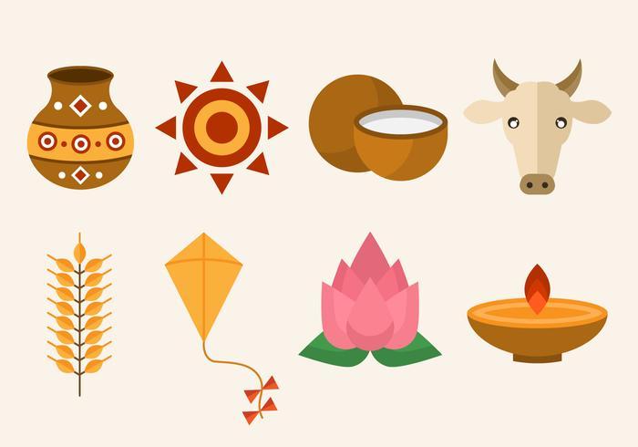 Free Pongal Vector Icon