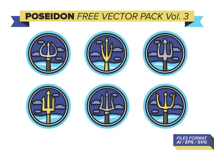 Poseidon fri vektor pack vol. 3