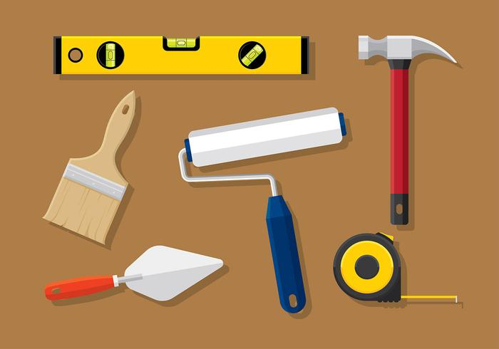 Construction Level Tools Vector