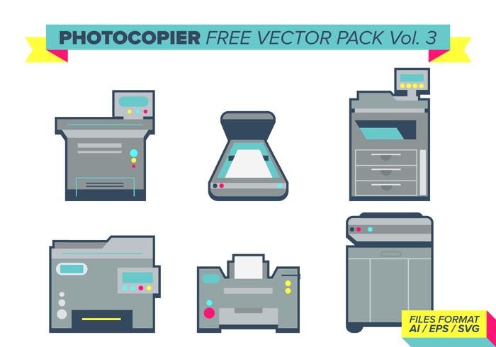 Pacote de vetores livre de fotocopiadoras vol. 3