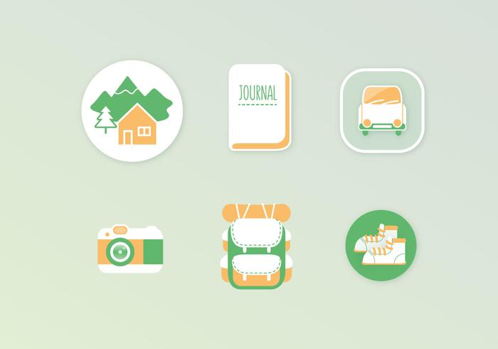 Adventure Vector Icons