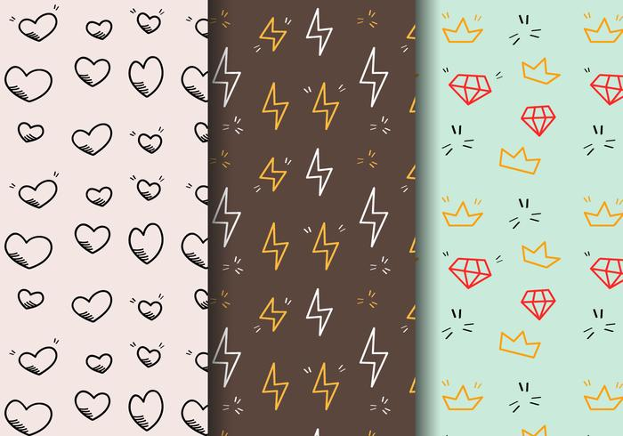 Free Hipster Pattern Vector