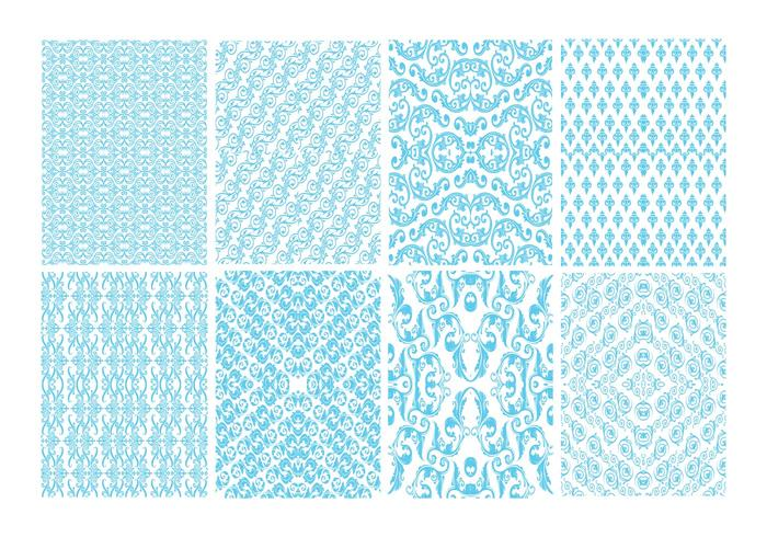 Free Toile Decorative Pattern Vector