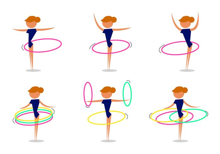 Vector Hula Hoop gratis