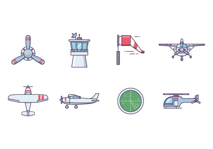 Free Airplane Vector