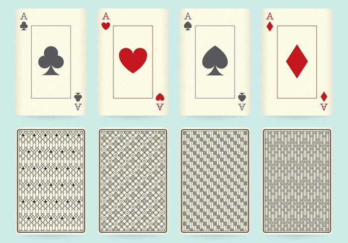 Desenhos de cartas de jogo