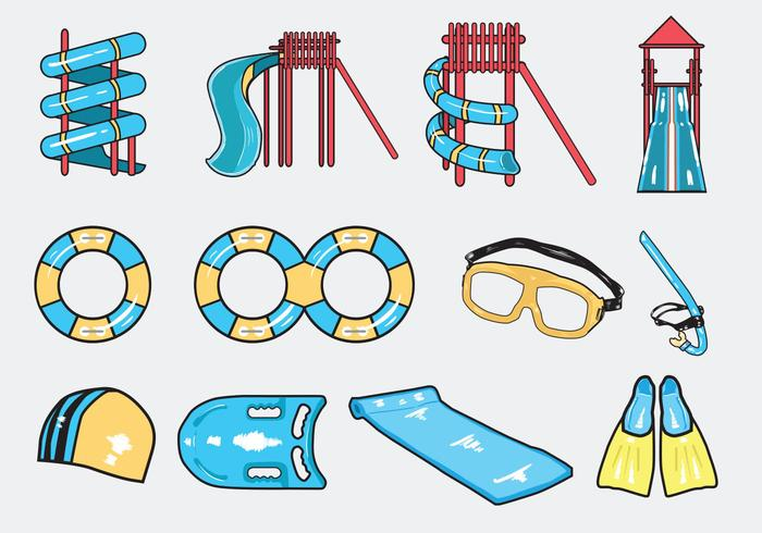 Summer Season Icon Vector