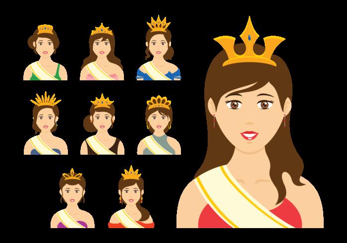 Página Queen Queen Vector