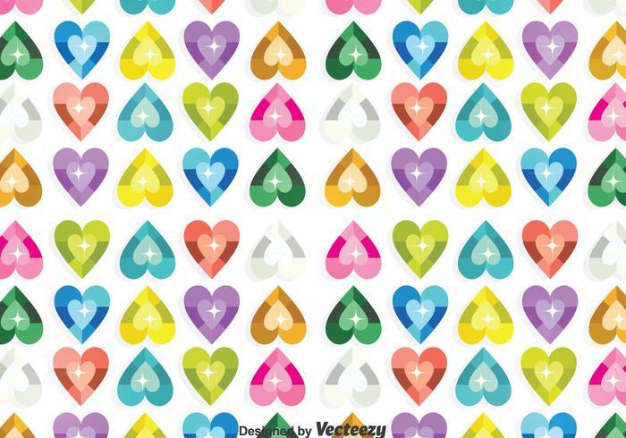 Heart Sequin Background