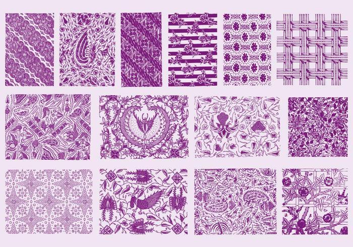 Texturas Purple Toile
