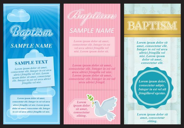 Taufe Flyer