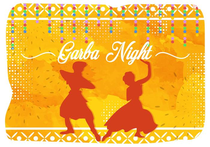 Illustration Of Garba Night India Party