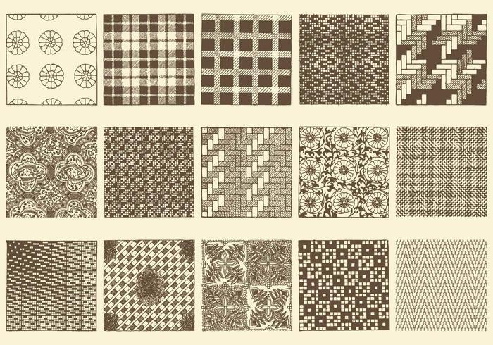 Sepia Toile Textures