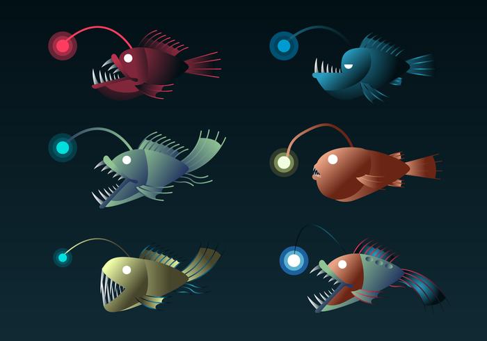 Kostenlose Angler Vektor