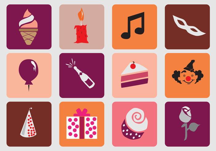 Birthday Sweet 16 Icon