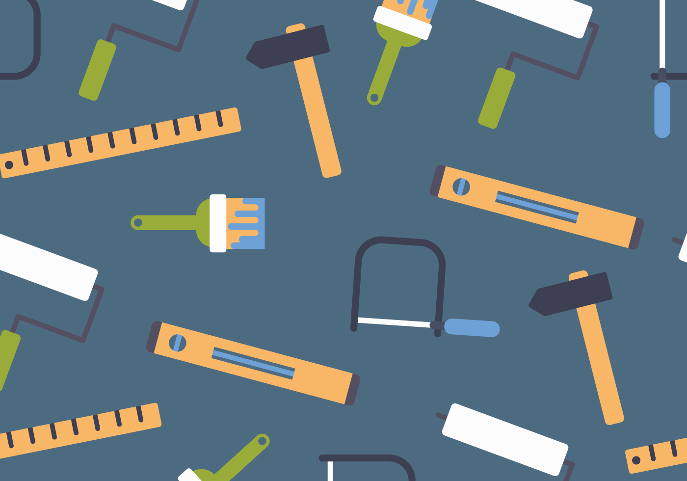 Tools Pattern - Download Free Vector Art, Stock Graphics ...