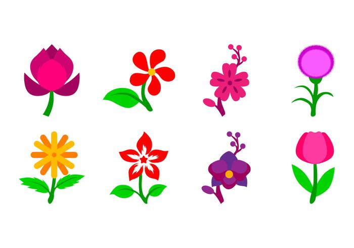 flower icon vector download free vector art stock graphics images rh vecteezy com flower artwork in vector flower artwork in vector