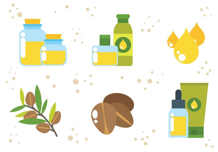 Free Argan Icons Vector