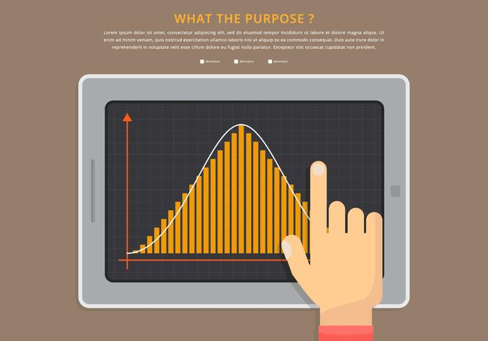 Bell Curve Infographic Template